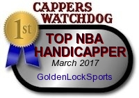 number one ranked handicapper at Cappers Watchdog monitor service